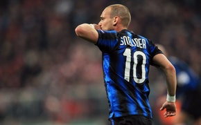 Обои Интер, Inter, Wesley Sneijder, Снейдер
