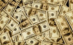 Картинка баксы, купюры, Доллары, наличность