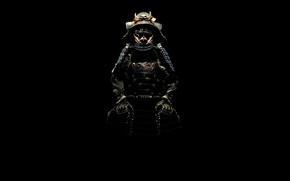 Картинка тень, самурай, костюм