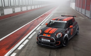 Обои mini, john cooper, works challenge, car, tuning