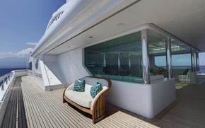 Картинка luxury, deck, motor, yacht Pegasus
