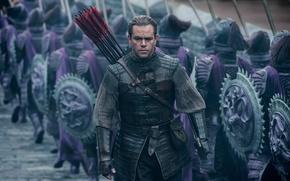 Картинка Мэтт Дэймон, Matt Damon, The Great Wall, Великая стена