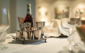 Картинка стол, посуда, фон