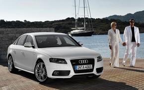 Картинка Audi, quattro, sedan, s-line