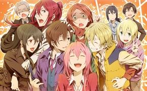 Картинка арт, Аниме, Anime, Takigawa Yoshino, Hayakawa Takumi, Fuwa Mahiro, Hoshimura Junichirou, Kusaribe Tetsuma, Yamamoto Evangeline, …