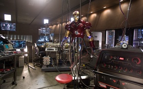 Обои iron man, custom, железный человек