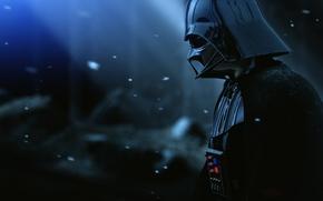 Картинка Star Wars, Darth Vader, Snow, Movie, Film, Helmet, The Force Unleashed II, Armor