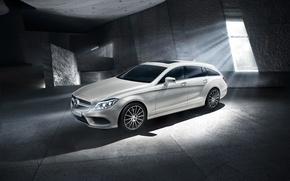 Картинка Mercedes-Benz, CLS, универсал