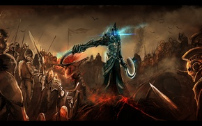 Картинка Diablo 3, army, fight, Malthael