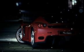 Картинка Ferrari, Enzo, night, Supercar