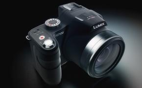 Картинка фотоаппарат, lumix, fz100, panasonic