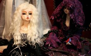 Картинка куклы, кукла, блондинка, doll, BJD
