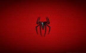 Обои spider-man, Минимализм, человек паук