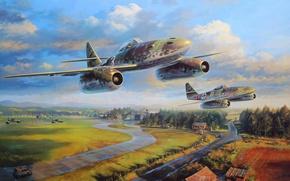 Картинка war, ww2, me 262