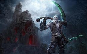 Картинка игра, арт, некромант, Xul in Heroes of the Storm, Ксул