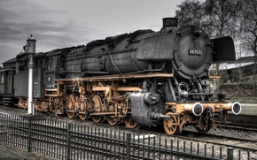 Картинка golden, black, train