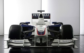 Обои белый, BMW Sauber