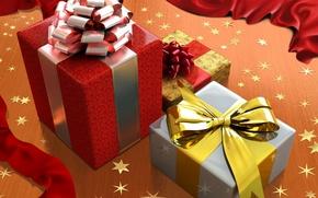 Картинка новый год, подарки