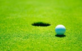 Картинка поле, мяч, гольф