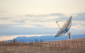 Картинка California, Radio Telescope, Stanford University