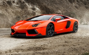 Картинка суперкар, lamborghini, ламборджини, coupe, roadster, aventador, авентадор, lp-700-4, 2015