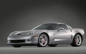 Обои Z06, silver, Corvette