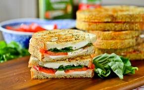 Обои хлеб, бутерброд, сэндвич