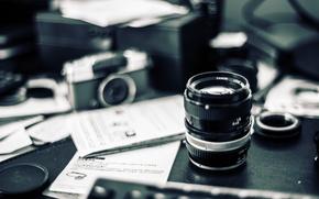Картинка camera, bokeh, lens, mess, Carl Zeiss