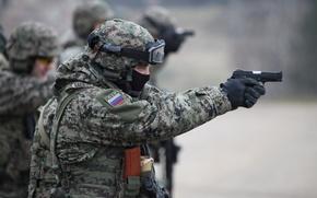 Картинка пистолет, гром, осн, интерполитех 2012