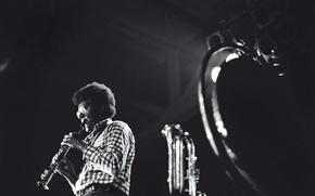 Картинка музыка, джаз, музыкант, композитор, саксофон, джазовый музыкант, Anthony Braxto, саксофонист