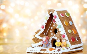 Картинка дом, праздник, новый год, еда, семья, торт, new year, сладкое, вкусно