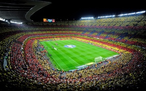 Картинка Спорт, Футбол, Испания, Барса, Стадион, Stadium, Spain, Реал Мадрид, Real Madrid, Camp Nou, FC Barcelona, …