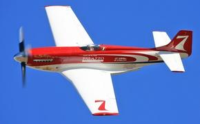 "Картинка airplane, aviation, North American P-51 Mustang, ""Strega"""