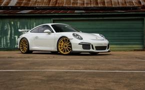 Картинка Porsche, One, GT3, Forged, Wheels, 991, GT1, Piece, Forgeline, Monoblock