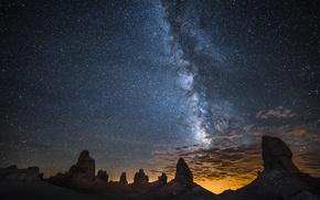 Картинка космос, звезды, ночь, природа, млечный путь