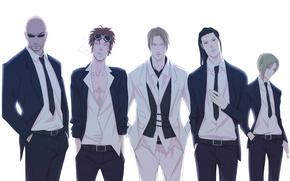 Картинка Reno, Elena, rpg, Final Fantasy VII, Tseng, Rude, SQUARE ENIX, Rufus Shinra