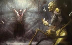 Картинка Mortal Kombat X, мортал комбат 10, Смертельная битва 10, Шиннок, Shinnok, ди вора