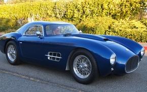 Картинка дорога, синий, тюнинг, Ferrari, автомобиль, спортивный, гран туризмо, класса, эксклюзивный, 250 GTO