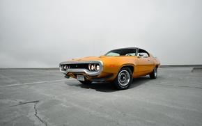Картинка 1971, Plymouth, плимут, Road Runner, роуд раннер