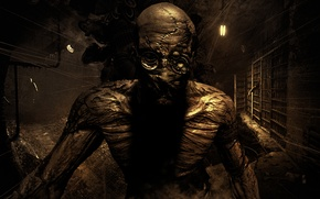 Картинка Monster, Video Game, Outlast, Psychiatric Hospital, Mount Massive Asylum, Psychological Horror, Survival Horror, Doctor Rick …