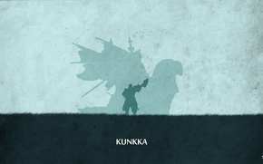 Картинка valve, ship, kunkka, shadow, dota 2, sheron1030, minimalsim