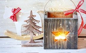 Обои merry, christmas, xmas, decoration, snow, рождество