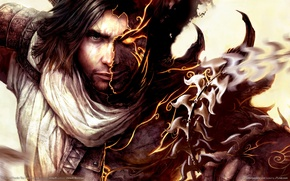 Картинка принц персии, prince of persia, темный принц, the two thrones