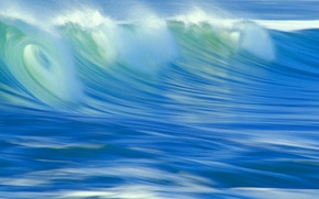 Картинка море, вода, волна, обработка, прибой