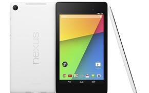Картинка Белый, Android, Андроид, Google, White, 2013, Планшет, Tablet, Nexus 7