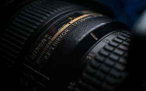 Картинка hi-tech, macro, Nikon, объектив