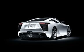 Картинка Lexus, White, LFA, Sports car