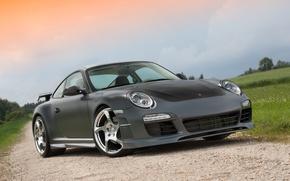 Картинка 911, Porsche, wheels, MANSORY, hrome