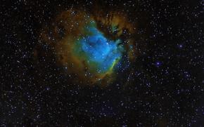 Обои SH 2-112, туманность, космос