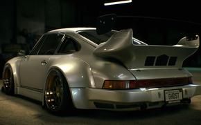 Картинка Porsche, nfs, 2015, нфс, 930, Need for Speed 2015, this autumn, RWB Porsche Stella Artois, …